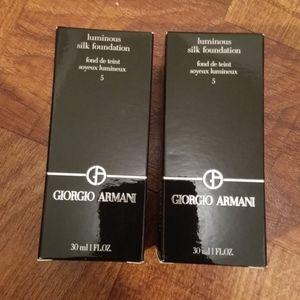 NIB Giorgio Armani Luminous Silk Foundation
